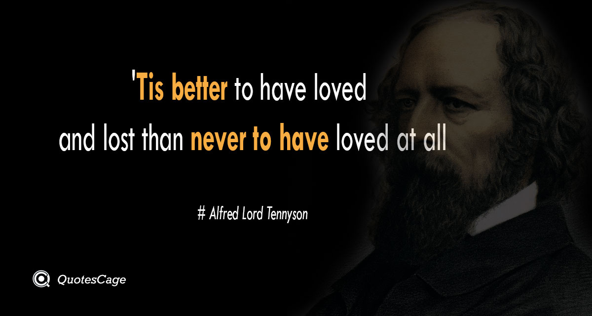 Alfred Lord Tennyson 1