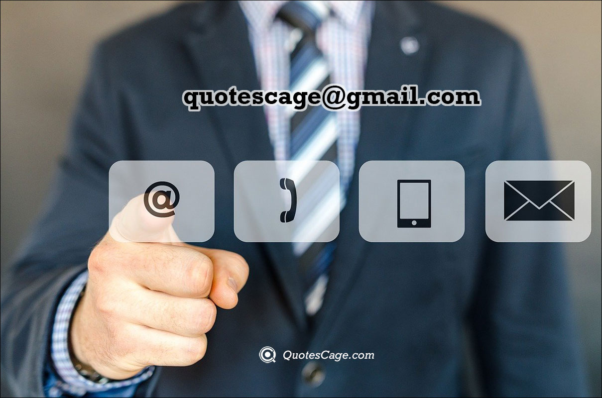 quotes cage contact