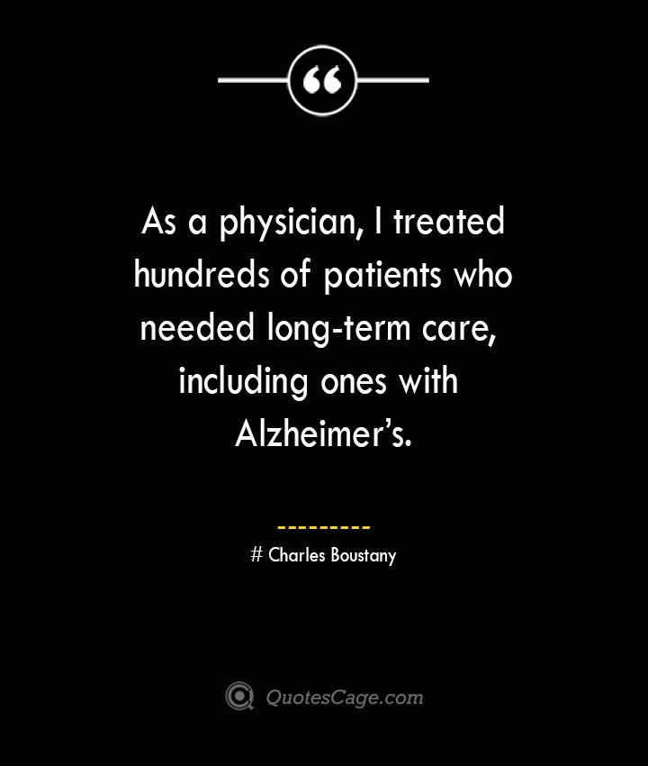 Alzheimer's Quotes