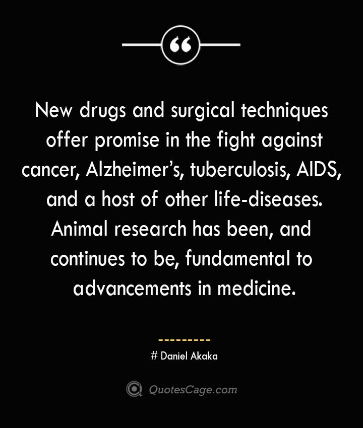 Daniel Akaka Quotes about Alzheimer