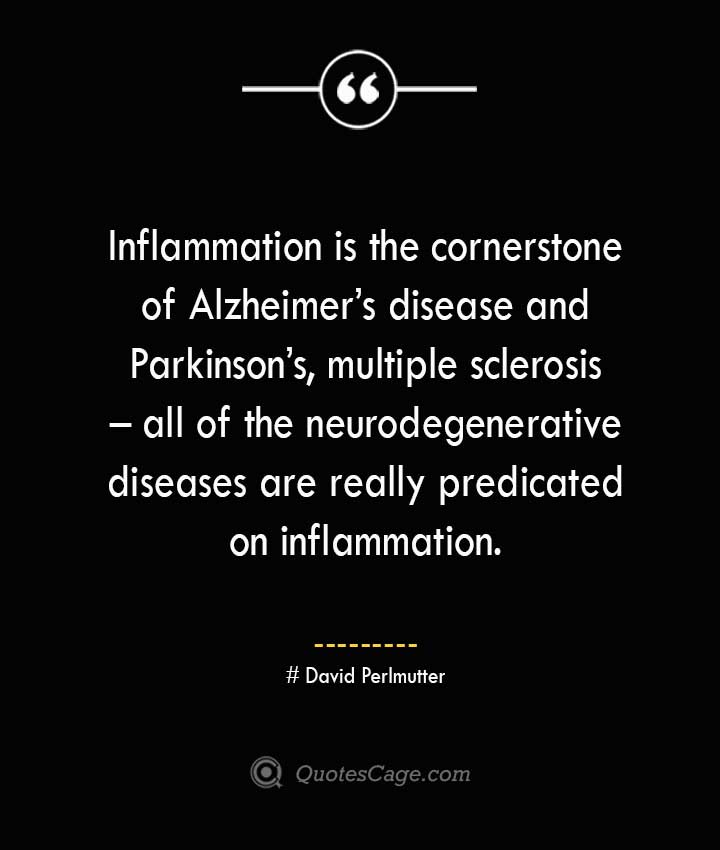 David Perlmutter Quotes about Alzheimer