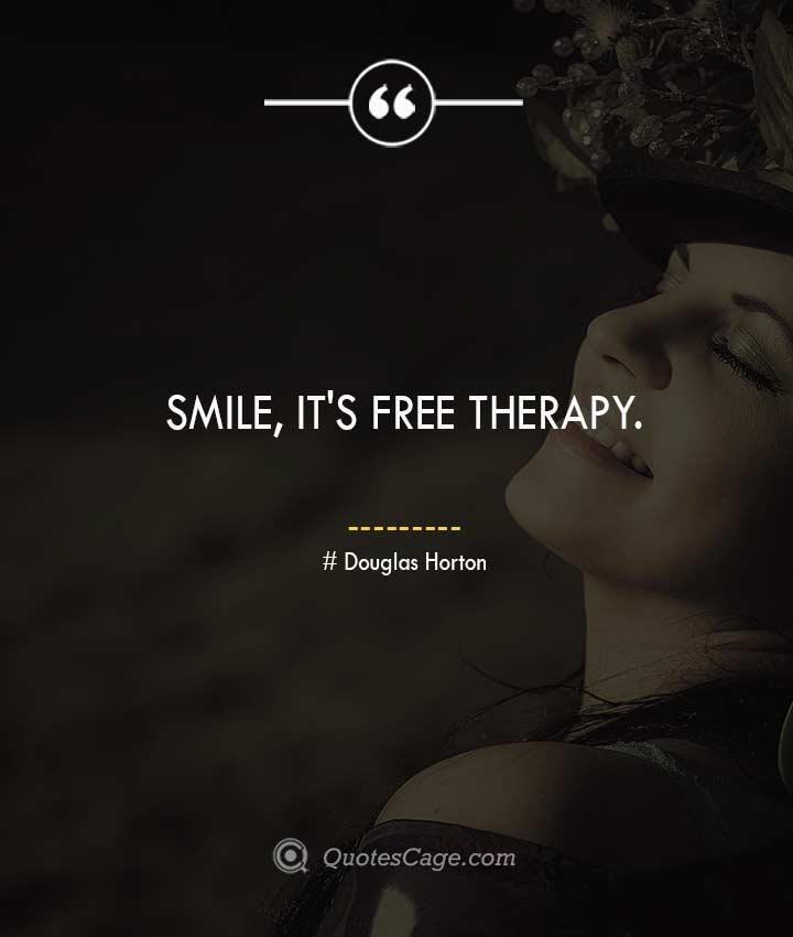 Douglas Horton smile quotes