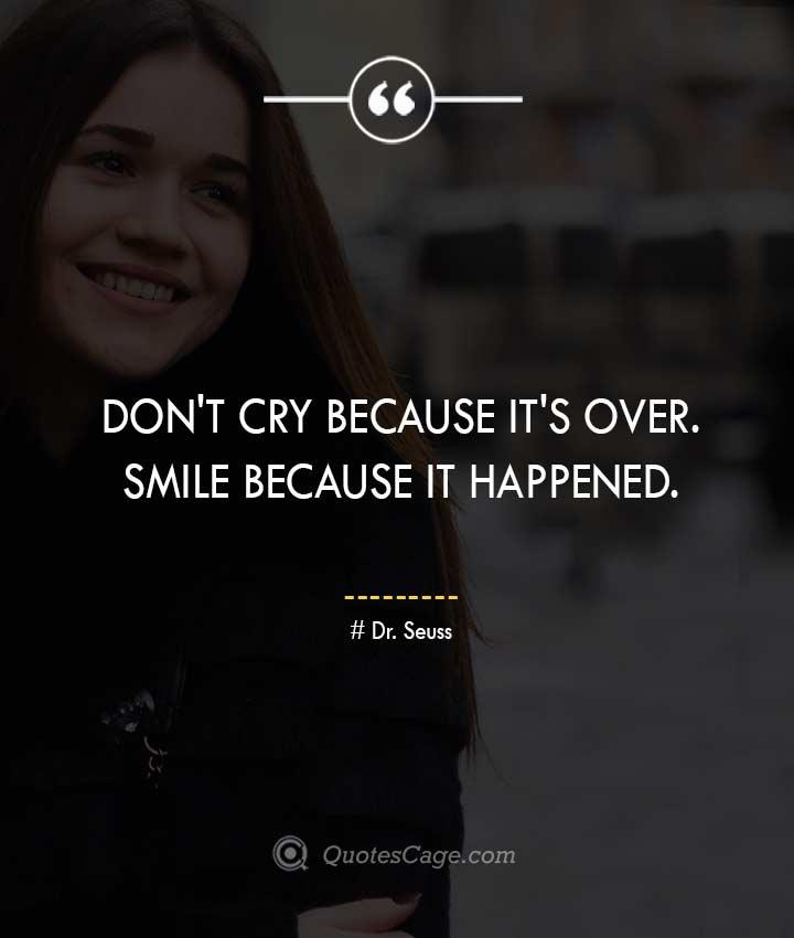 Dr. Seuss quotes about Smile