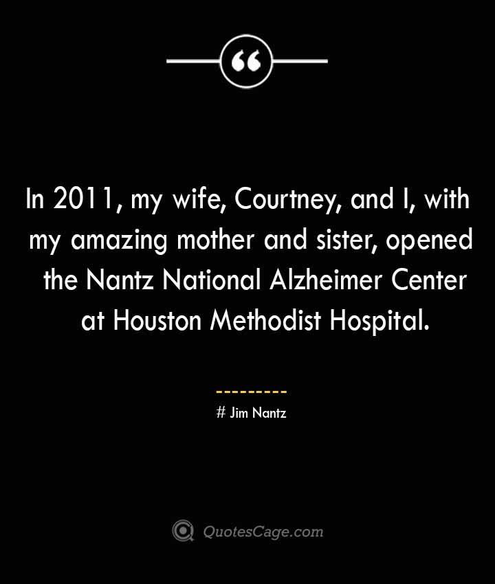 Jim Nantz Quotes about Alzheimer