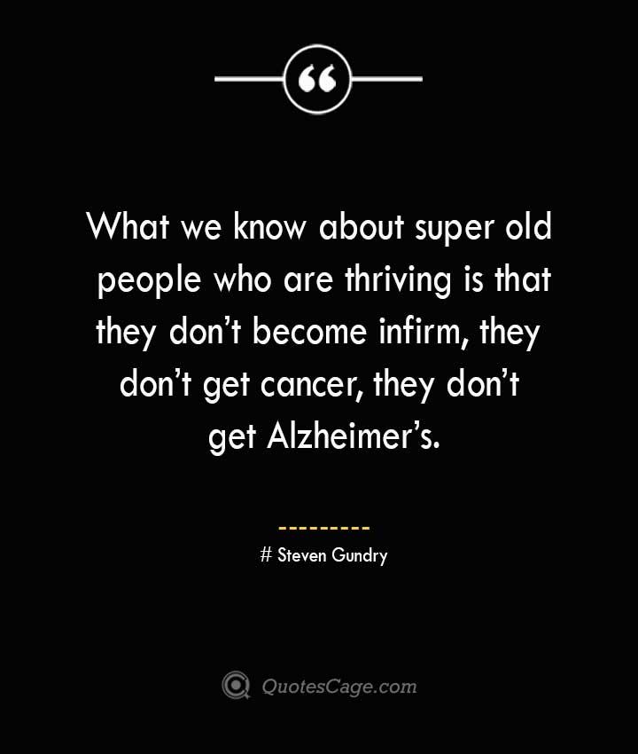 Steven Gundry Quotes about Alzheimer