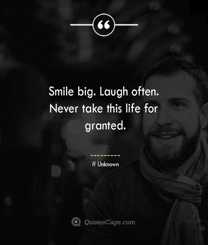 Unknown quotes about Smile 13