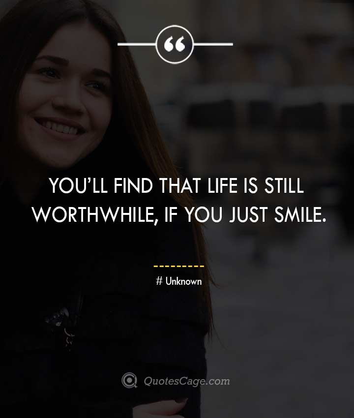Unknown quotes about Smile