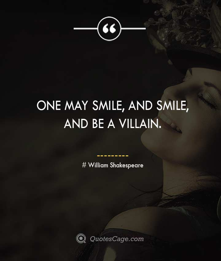 William Shakespeare smile quotes