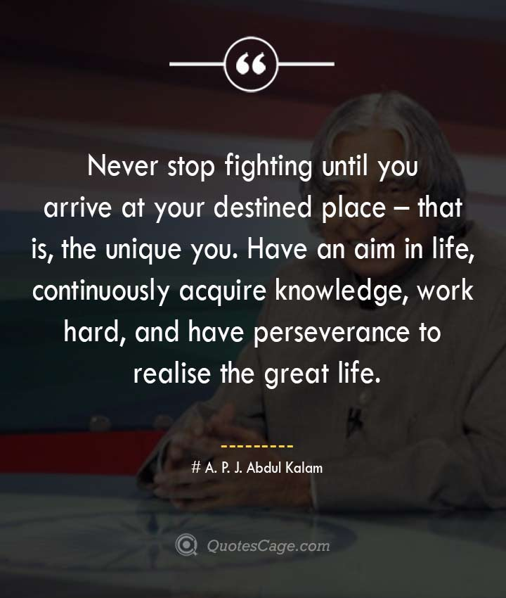 APJ Abdul Kalam Quotes to Dream and Innovate in Life