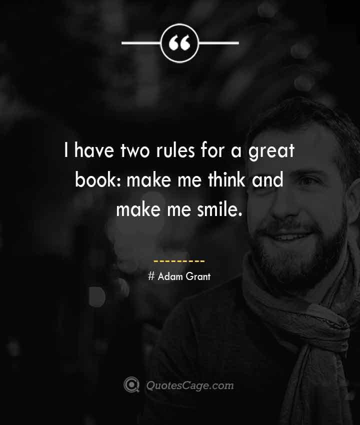 Adam Grant quotes about Smile