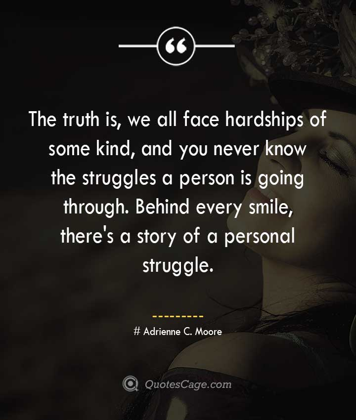 Adrienne C. Moore quotes about Smile