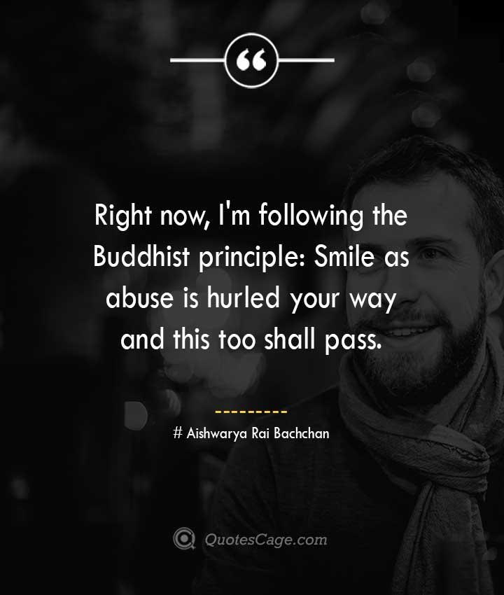 Aishwarya Rai Bachchan quotes about Smile