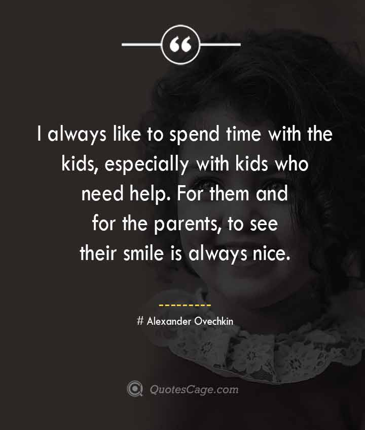 Alexander Ovechkin quotes about Smile