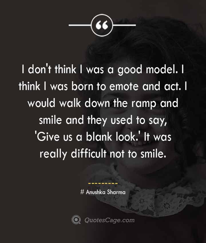 Anushka Sharma quotes about Smile