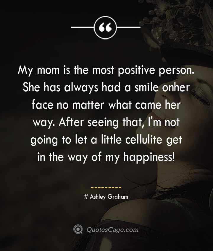 Ashley Graham quotes about Smile