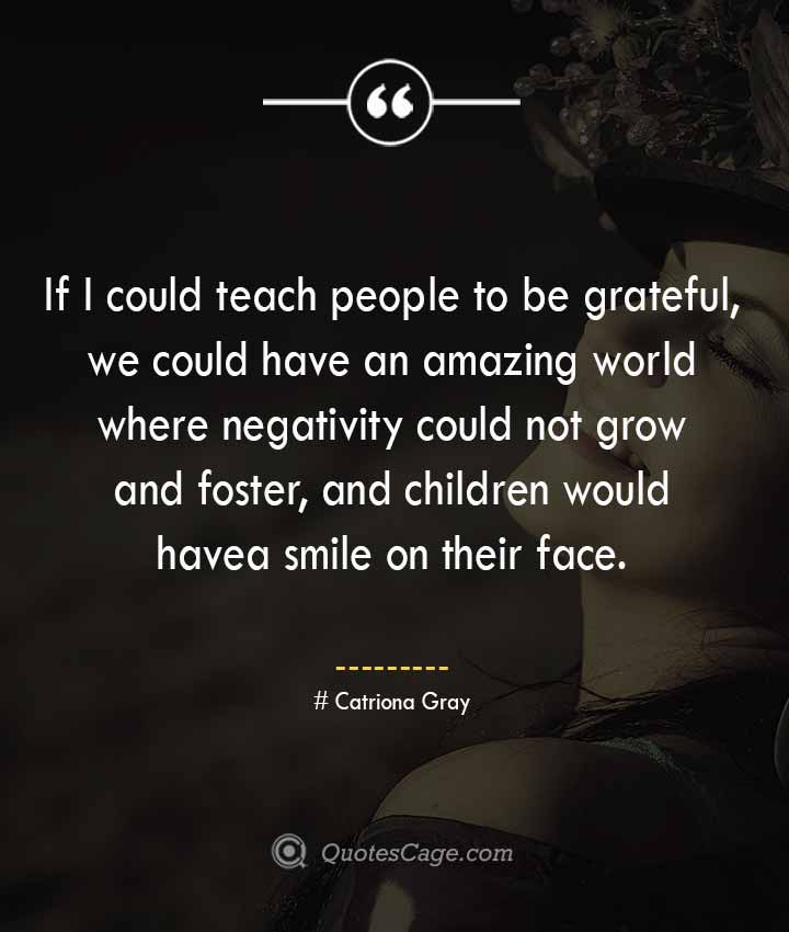 Catriona Gray quotes about Smile