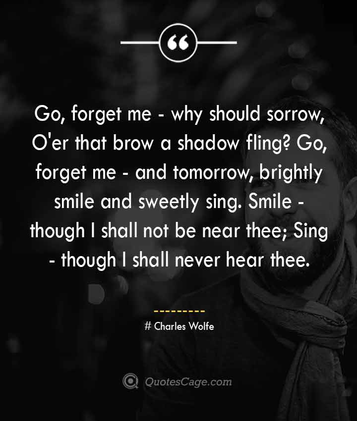 Charles Wolfe quotes about Smile