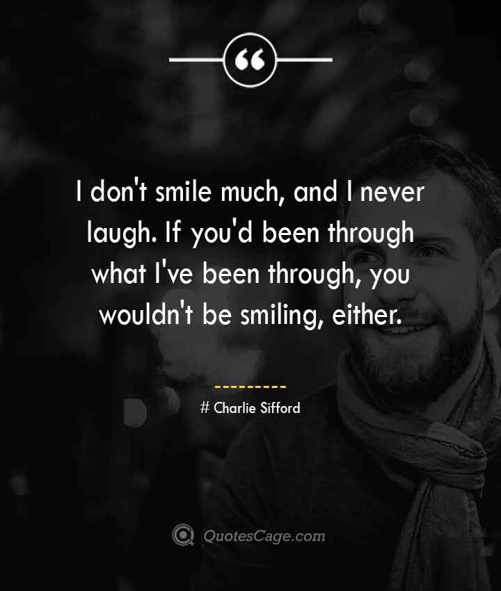 Charlie Sifford quotes about Smile