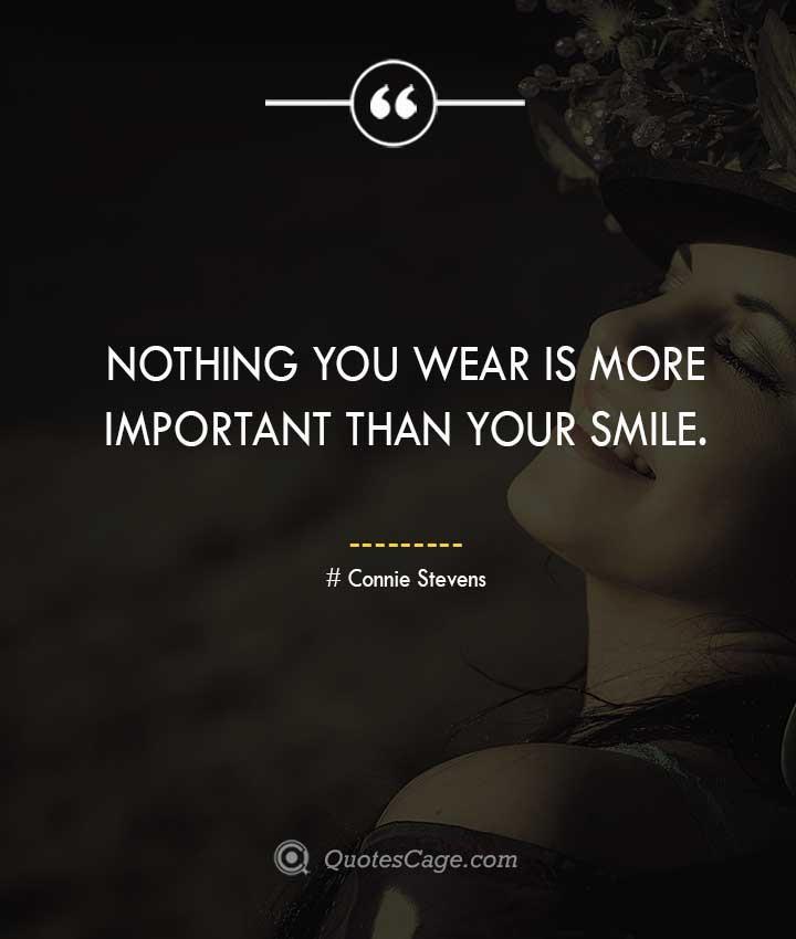 Connie Stevens quotes about Smile