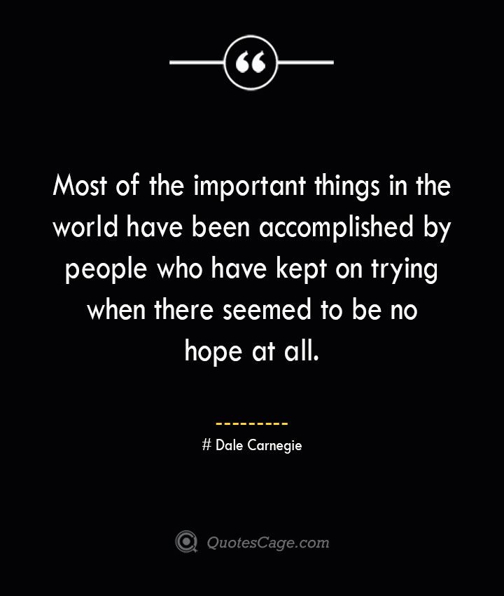 Dale Carnegie Quotes about Business