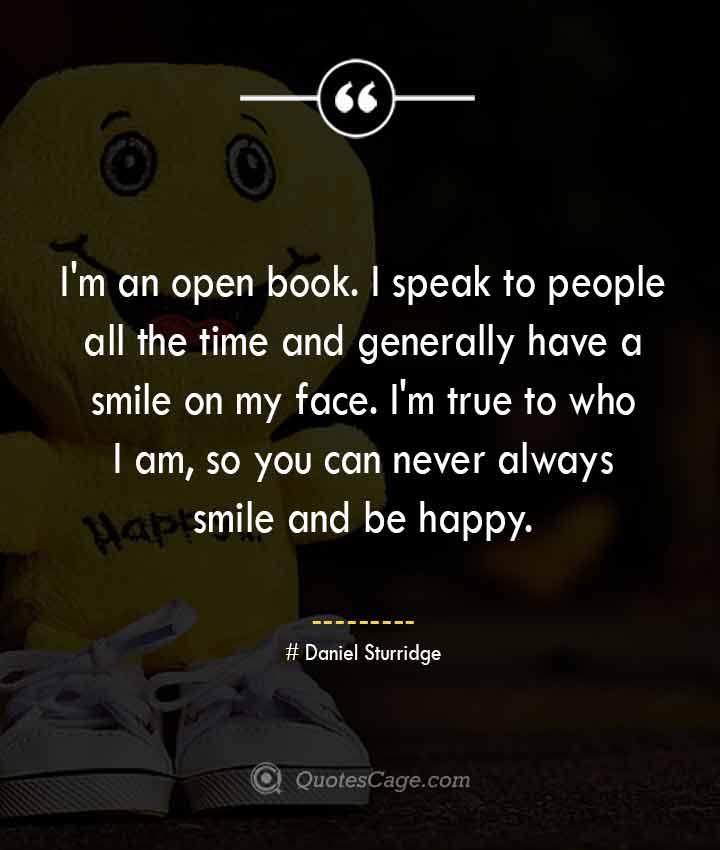 Daniel Sturridge quotes about Smile