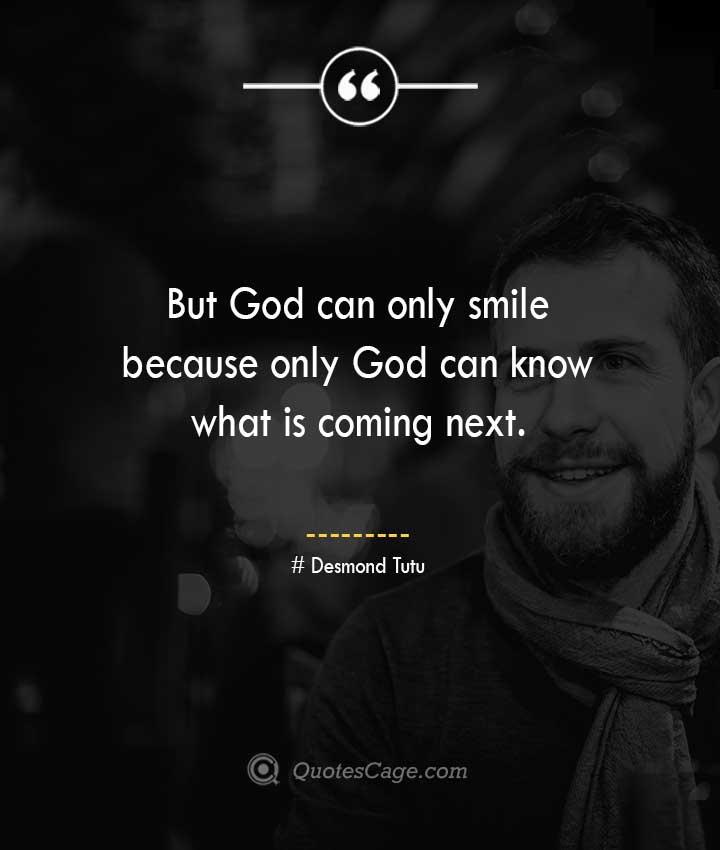 Desmond Tutu quotes about Smile