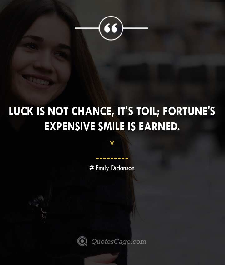 Emily Dickinson quotes about Smile