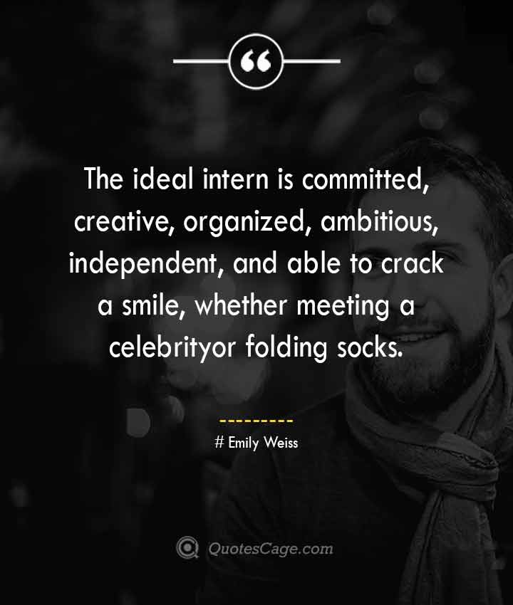 Emily Weiss quotes about Smile