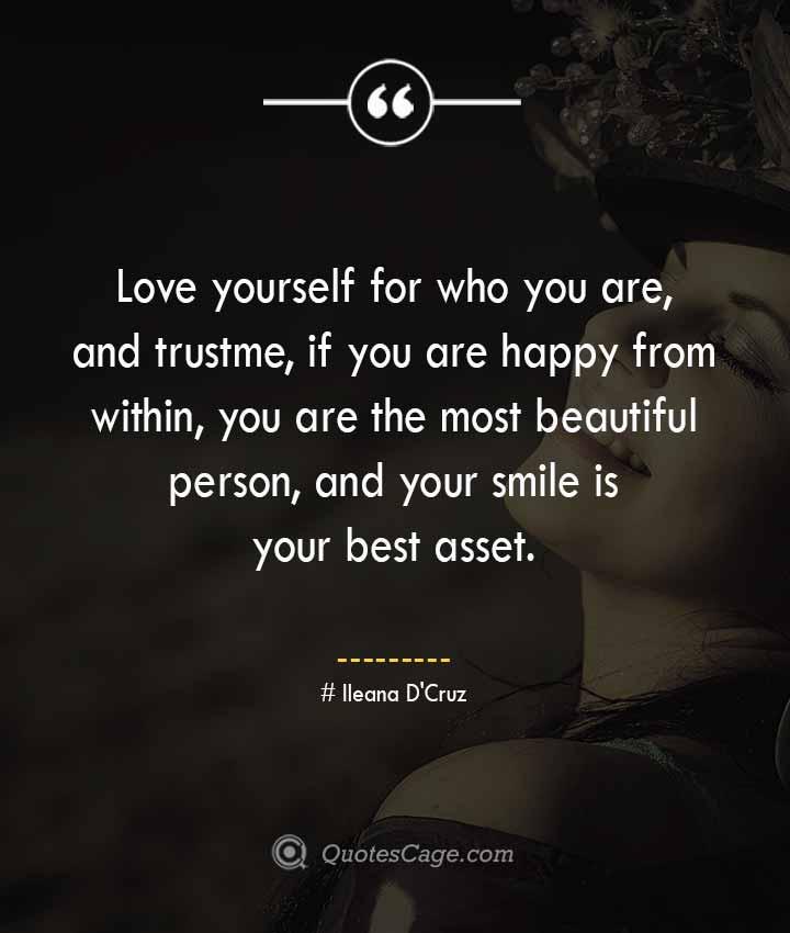 Ileana DCruz quotes about Smile