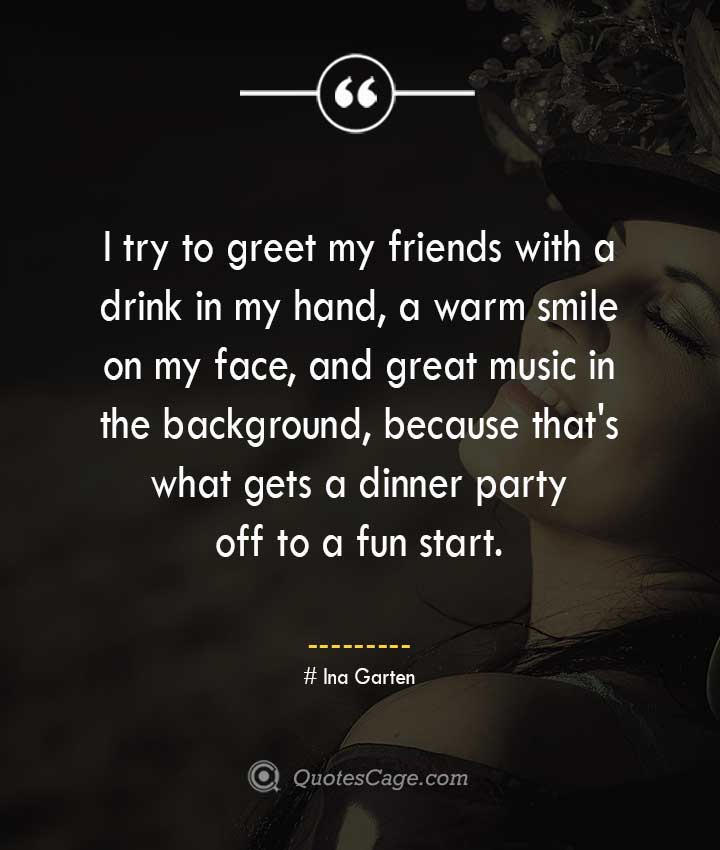 Ina Garten quotes about Smile