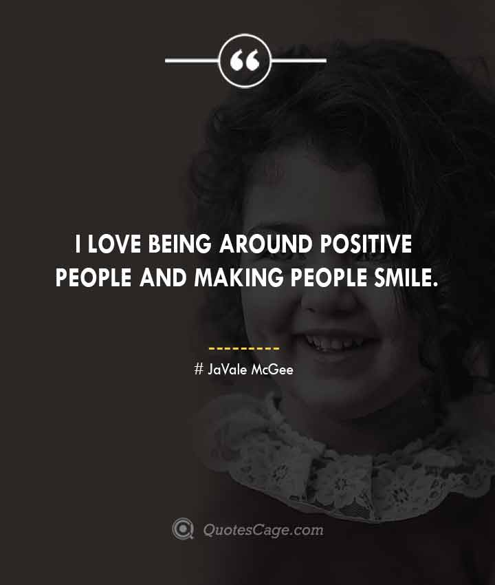 JaVale McGee quotes about Smile 2