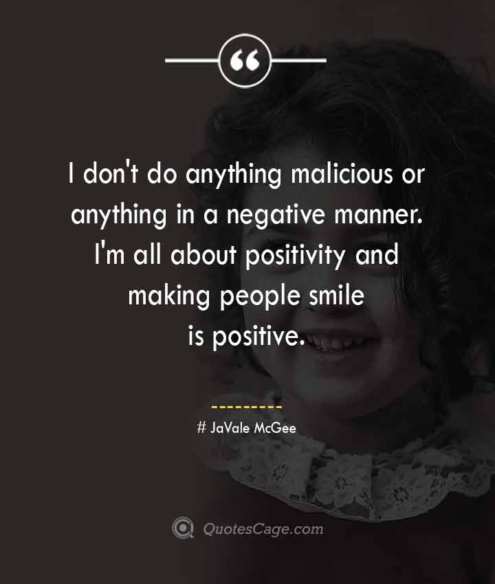 JaVale McGee quotes about Smile