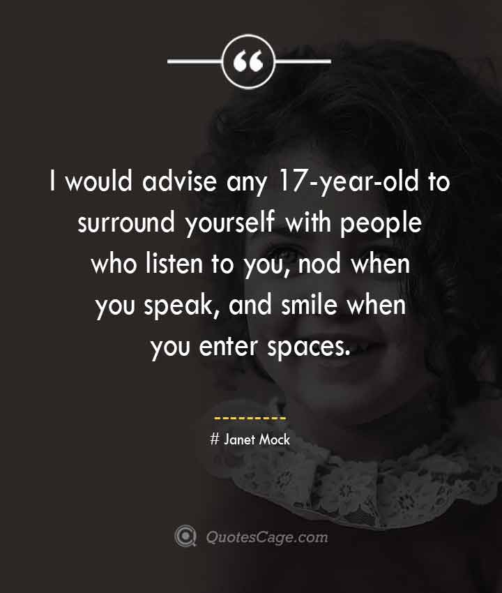 Janet Mock quotes about Smile
