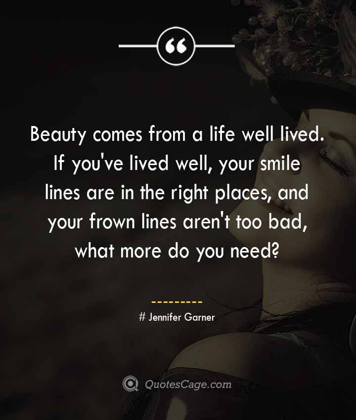 Jennifer Garner quotes about Smile