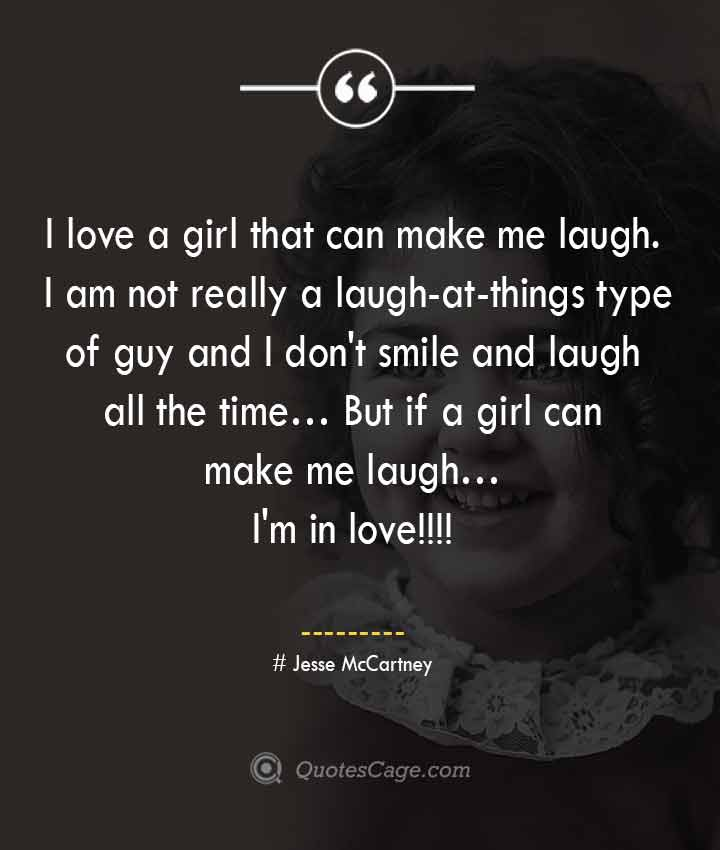Jesse McCartney quotes about Smile 1