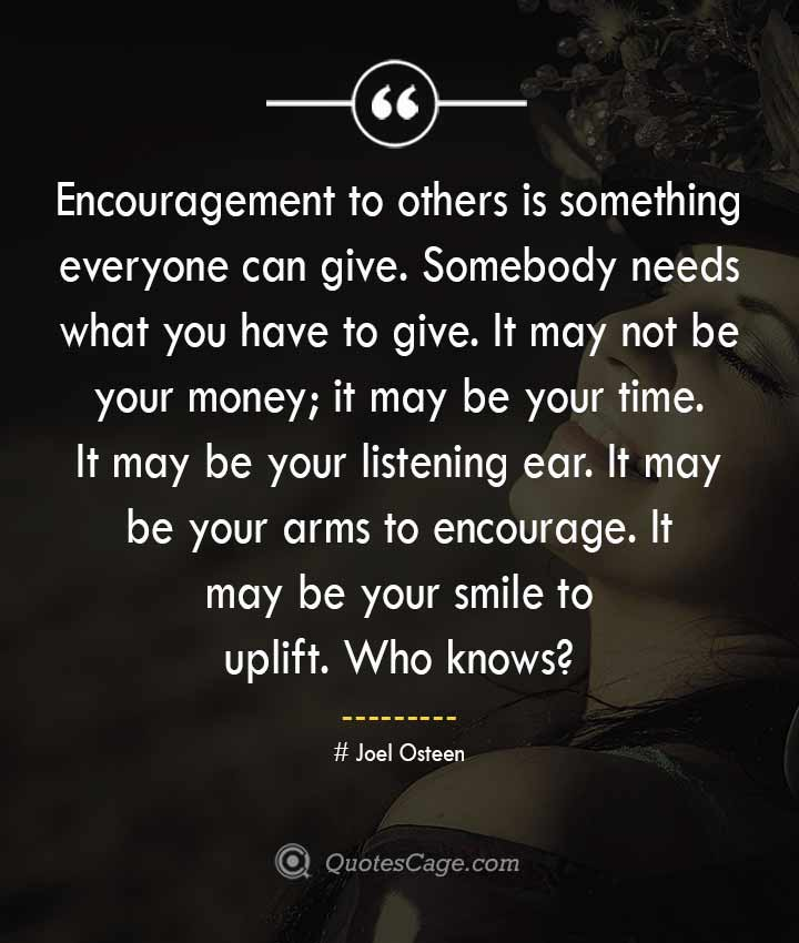 Joel Osteen quotes about Smile