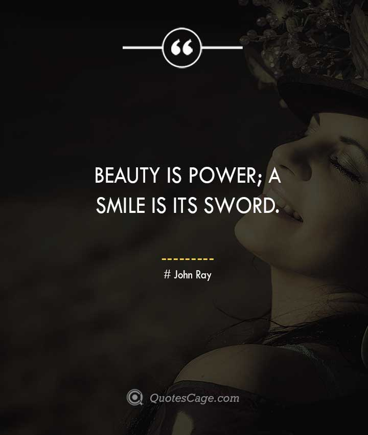 John Ray quotes about Smile