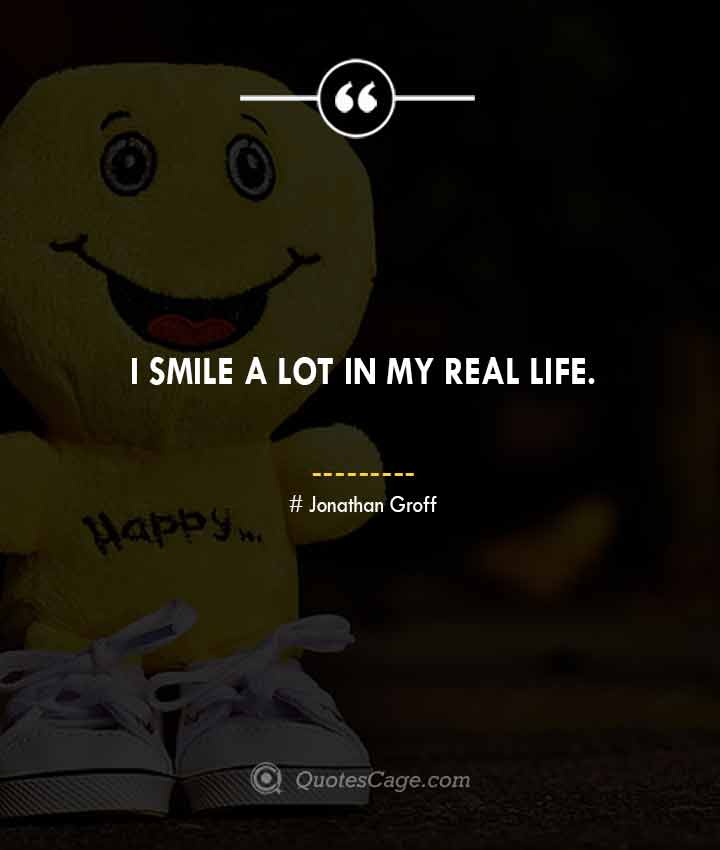 Jonathan Groff quotes about Smile