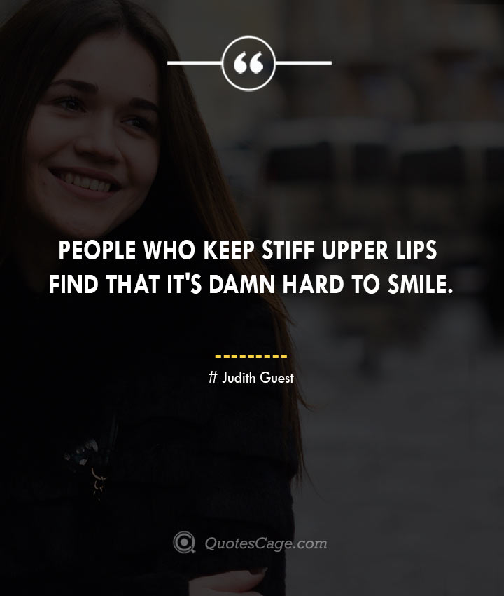Judith Guest quotes about Smile