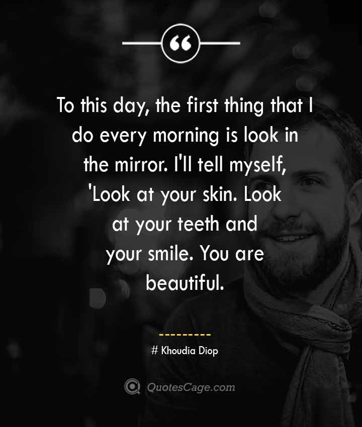 Khoudia Diop quotes about Smile