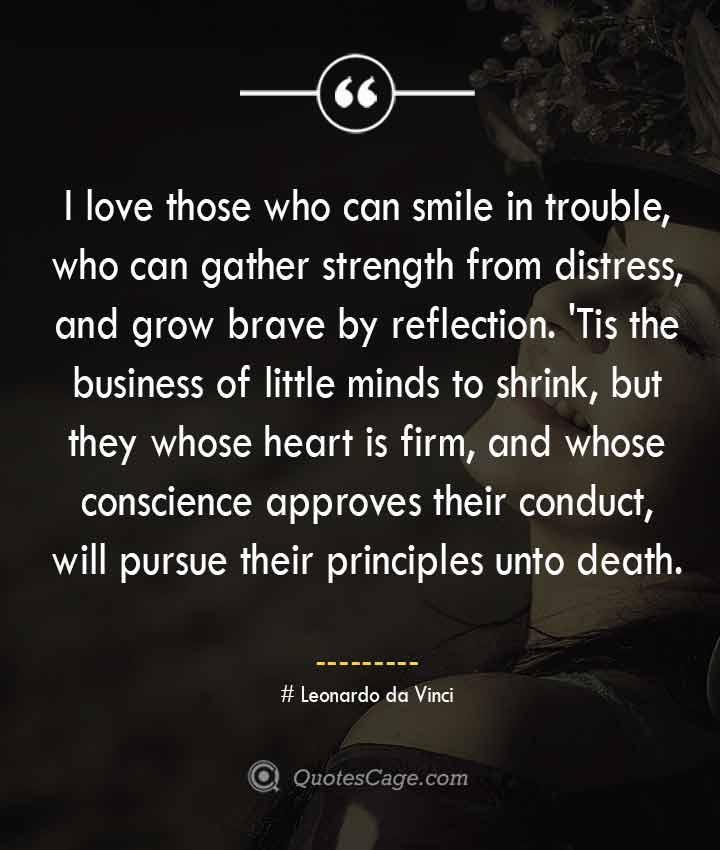 Leonardo da Vinci quotes about Smile
