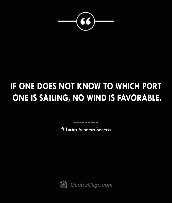Lucius Annaeus Seneca Quotes about Business