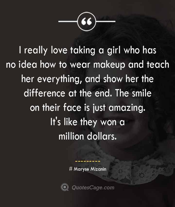 Maryse Mizanin quotes about Smile