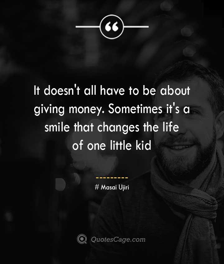 Masai Ujiri quotes about Smile