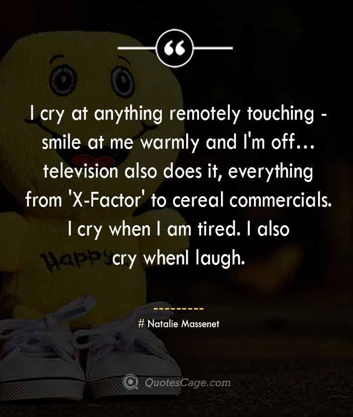 Natalie Massenet quotes about Smile