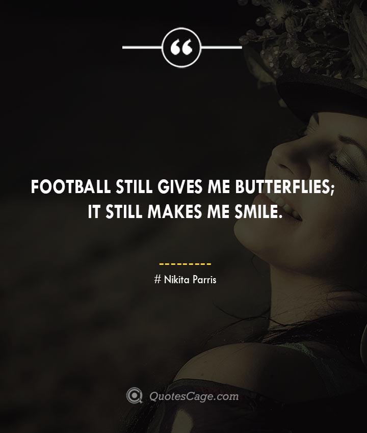 Nikita Parris quotes about Smile
