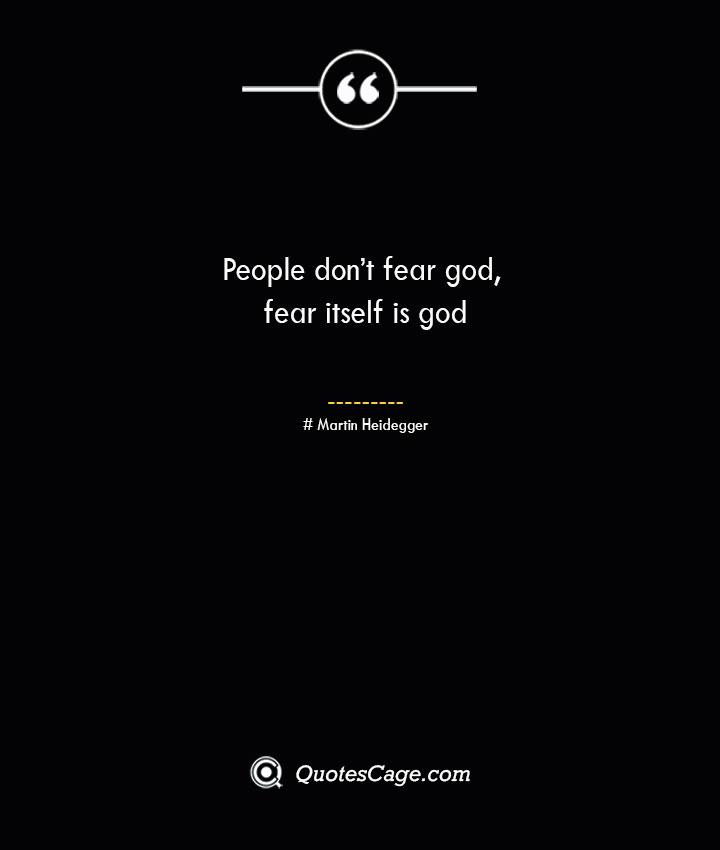 People dont fear god fear itself is god – Enel One Piece