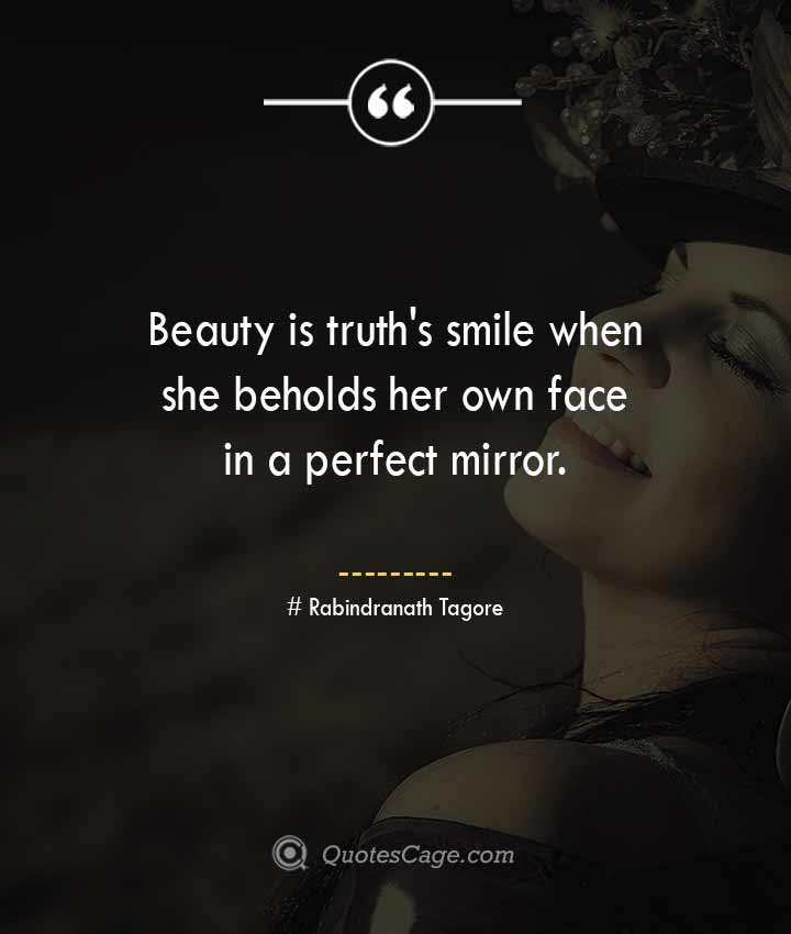 Rabindranath Tagore quotes about Smile
