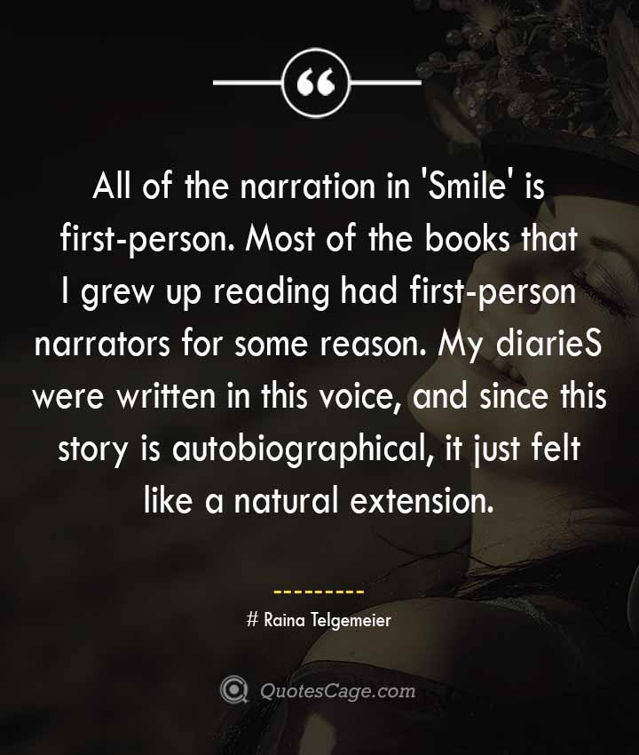 Raina Telgemeier quotes about Smile