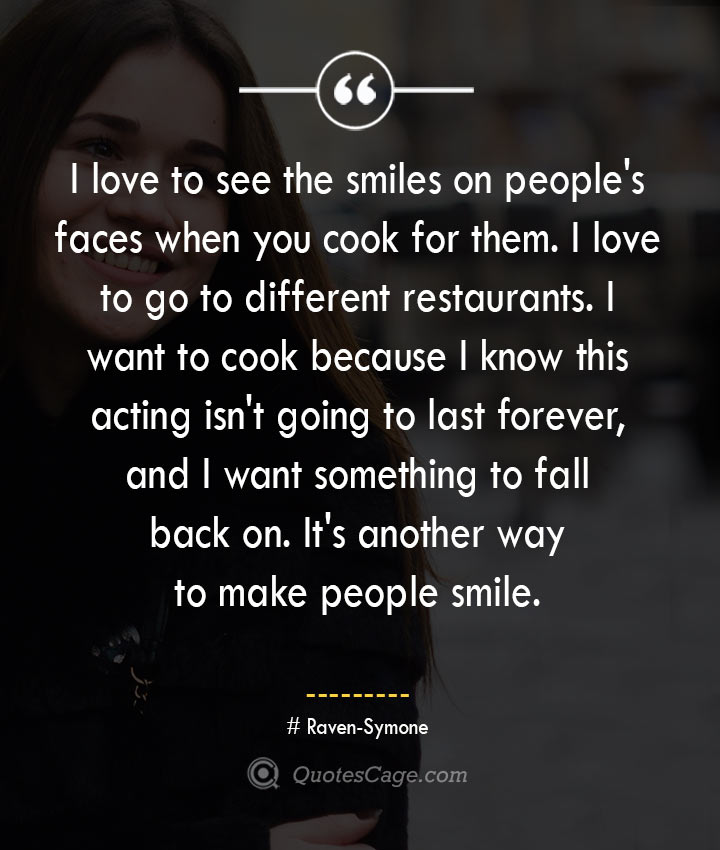 Raven Symone quotes about Smile